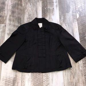 Nanette Lepore Satin jacket